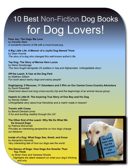 fiction books for dog lovers